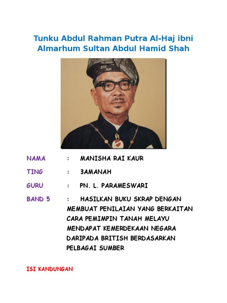 Folio Tunku Abdul Rahman Docx