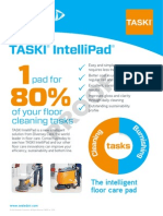 TASKI Intellipad Advert