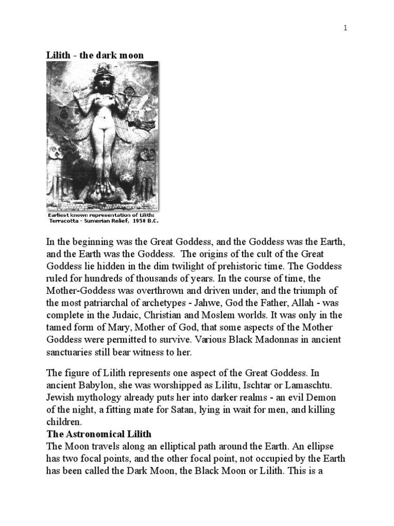 Lilith - The Dark Moon | Apsis | Goddess