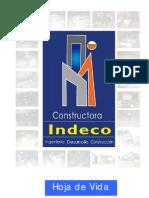 HOJA DE VIDA CONSTRUCTORA INDECO Garantipower S.A.
