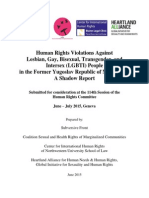 CCPR - International Covenant on Civil and Political Human Rights Violations Against Lesbian, Gay, Bisexual,Transgender, And Intersex (LGBTI) People_144(2015)