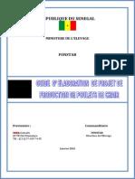 Guide d'Elaboration de Projet Poulets de Chair Vf