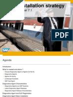 SAP SMDAgent Installation Strategy