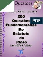 EST. DO IDOSO-Lei 10.741_2003 - Apostila Amostra