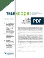 evaluation et développement