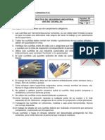 Saf002 - Instructivo de Seguridad Industrial Uso de Cuchillas