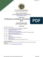 2003 Giugno 18 Convegno Innovazione Messina