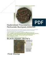 Hyderabad First Coin Farkunfa Buniyad