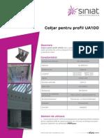Coltar Pentru Profil UA100