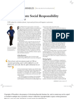 Why Corporate Social Responsibility