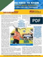 EMS First Responders Brochure