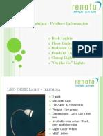 Renata Lighting - Products - July 13