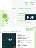 Renata Lighting - Products - July 13