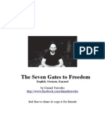 The Seven Gates to Freedom Daniel Travolto