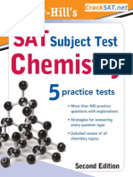 McGraw Hill's SAT Subject Test Chemistry-Org