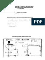 Informe 120 Mts,70 Mts y 40 Mts Incluido Sismo 01