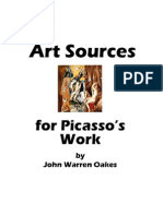 Art Sources for Picassos Work