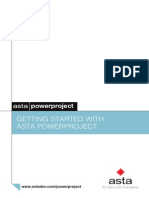 Getting Started With Asta Power Project v 11