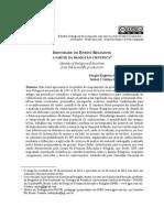 IDENTIDADE DO ENSINO RELIGIOSO a Partir Da Producao Cientifica - Estudos Teologicos - EST
