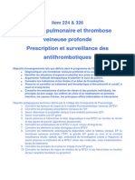 Maladie thromboembolique  veineose pdf