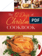 Sample From the 12 Days of Christmas Cookbook 2015 Edition