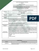 1042660 Solución de Conflictos en La Unidad Administrativa