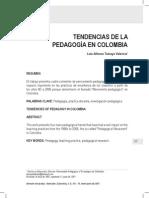 Tendencias e La Pedagogia en Colombia