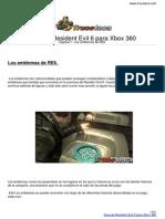 Guia Trucoteca Resident Evil 6 Xbox 360