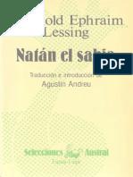 Lessing, Gotthold Ephraim - Natán El Sabio