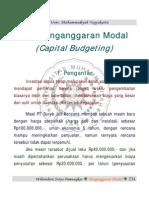 C22 Penganggaran Modal Manajemen Keuangan I