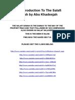 The Salafi Dawah