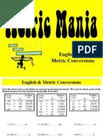 metric and english