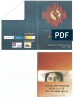 Jatari. Memoria Institucional. 2008 - 2009