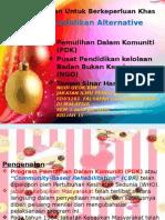 15. Pendidikan Alternative PDK NGO TSH
