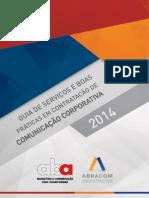 Guia de Servicos e Boas Praticas Em Contratacao de Comunicacao Corporativa