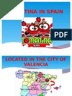 Tomatina in Spain