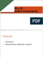 NIC 39 y 32 Instrumento Financieros (2)