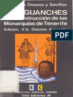 Los guanches o la destrucción de las monarquías de Tenerife