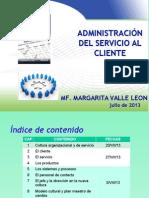 CULTURA ORGANIZACIONAL Y DE SERVICIO