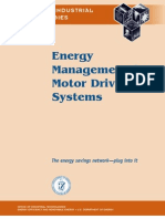 Energy Management for Motor Driven System