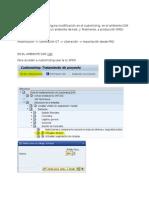 Ordenes de Transporte SAP