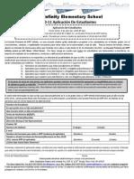 Kipp Khes Student Lottery Application 2010 11 Spanish Draft