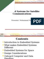 Embedded Systems for Satellite Comm -- Keynote Speech.ppt