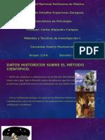 Datos Históricos Sobre El Método Científico.