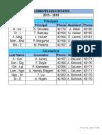 Principal-Counselor Split 2015-2016 7-1-15