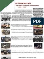Divise e Mezzi Del Corpo Italiano Di Liberazione e Dei Gruppi