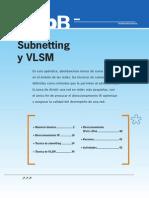 Subnetting y VLSM