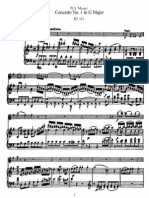 Concerto in G for Flute 313 p