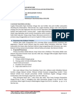 Tugas Catatan MPMT5103 (Logika)