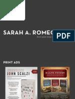 Sarah A. Romeo's Recent Design Work